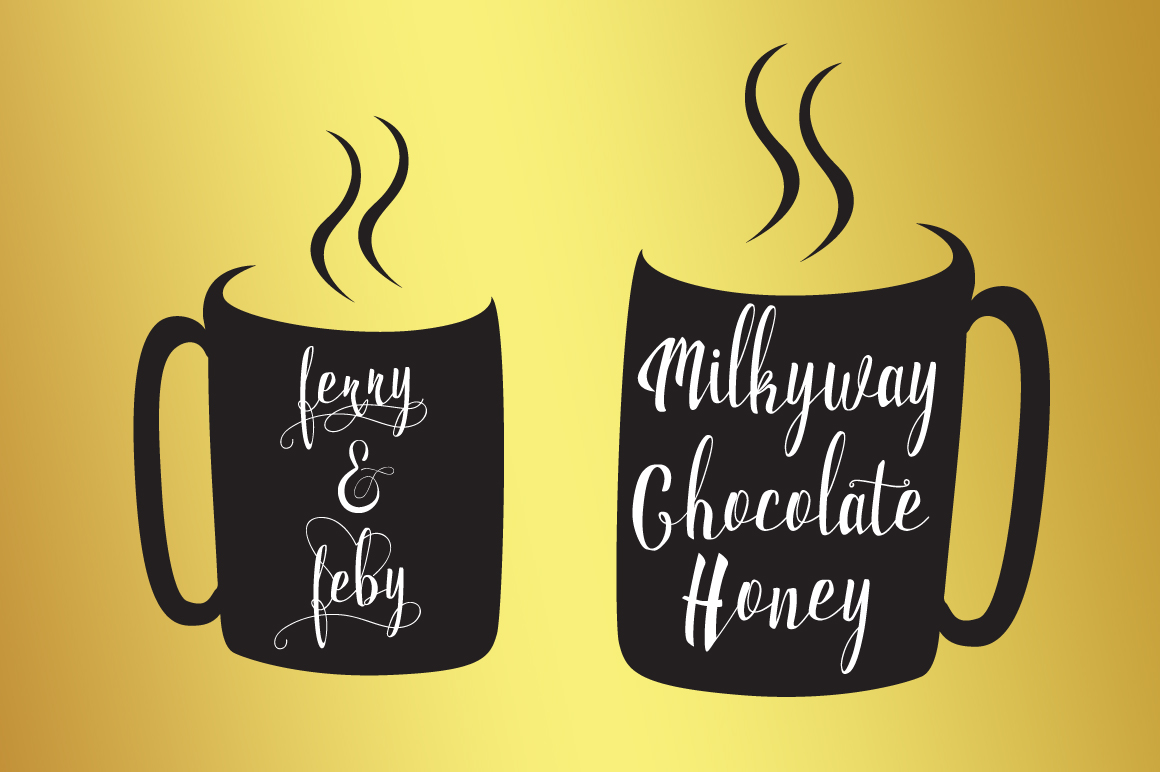 Print on Demand: Milkytwins Script & Handwritten Font By feydesign - Image 4