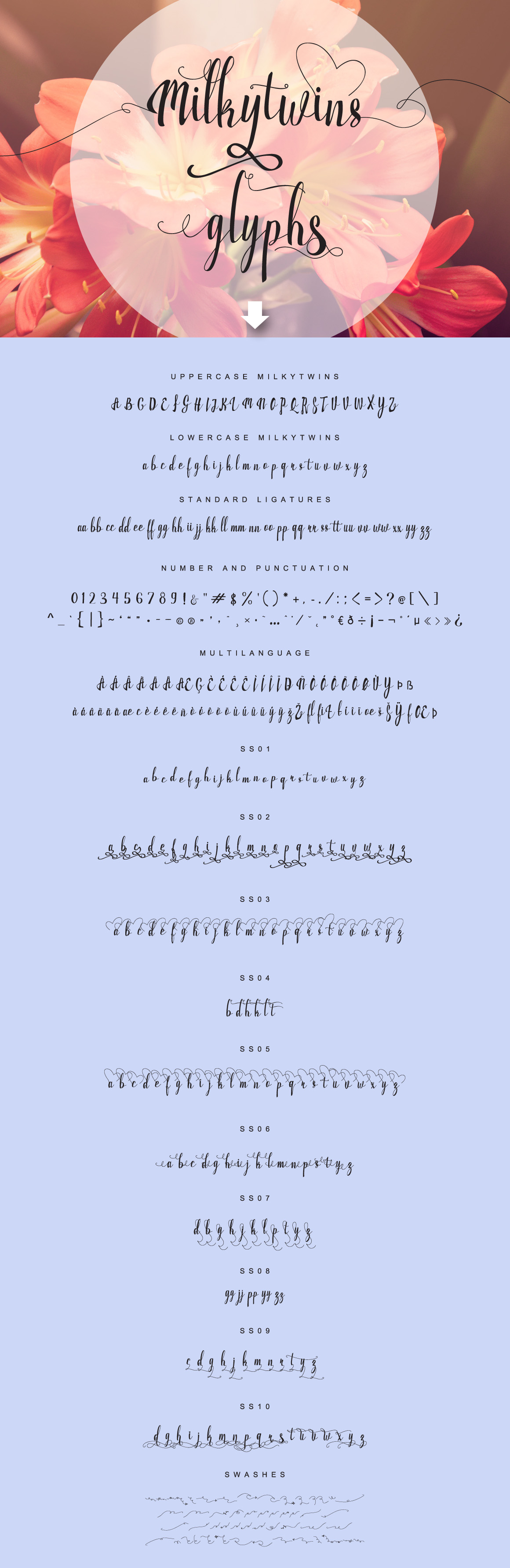 Print on Demand: Milkytwins Script & Handwritten Font By feydesign - Image 5
