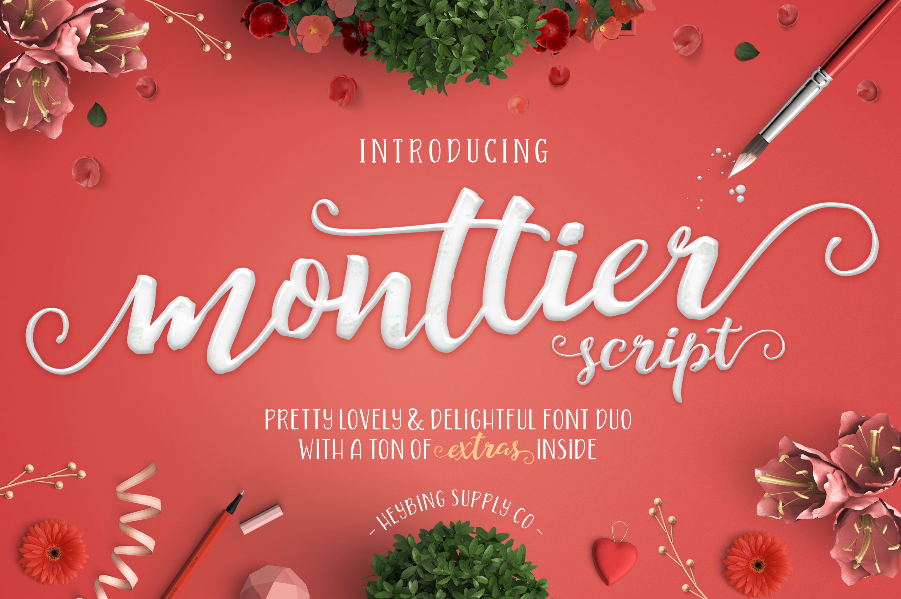 Monttier Font By Heybing Supply Co.