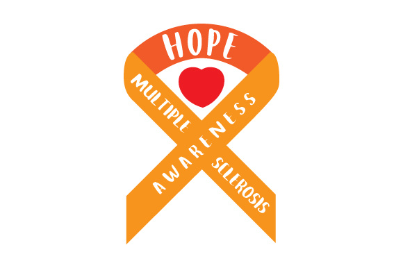 Multiple Sclerosis Awareness Svg Cut File By Creative Fabrica Crafts