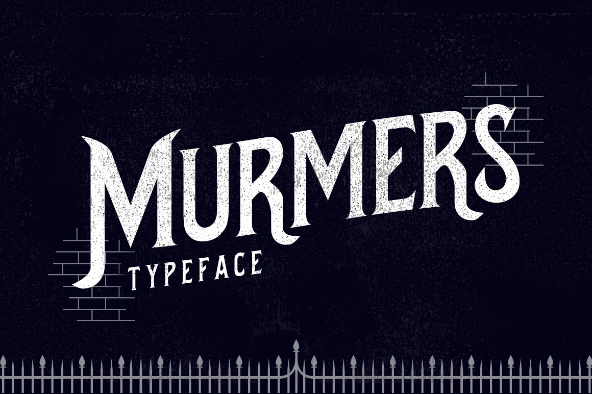 Print on Demand: Murmers Display Font By storictype