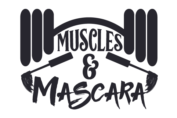 Download Free Muscles Mascara Svg Cut File By Creative Fabrica Crafts Creative Fabrica for Cricut Explore, Silhouette and other cutting machines.