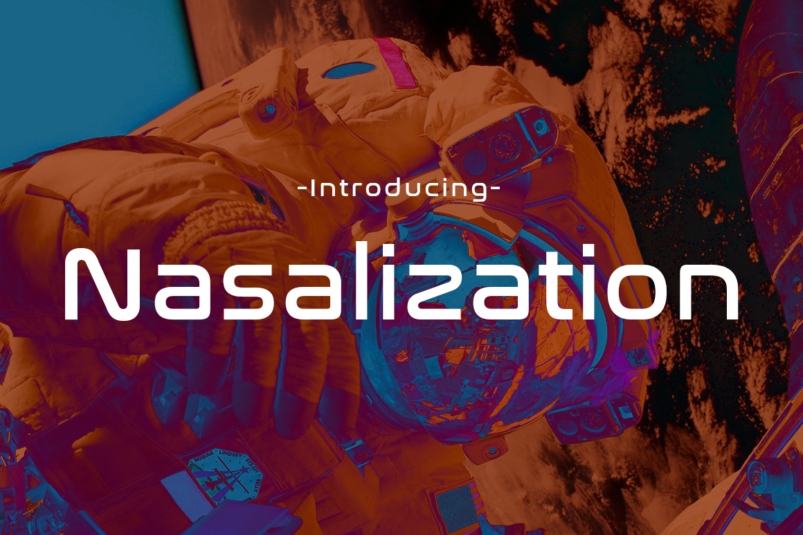 Print on Demand: Nasalization Display Font By Typodermic