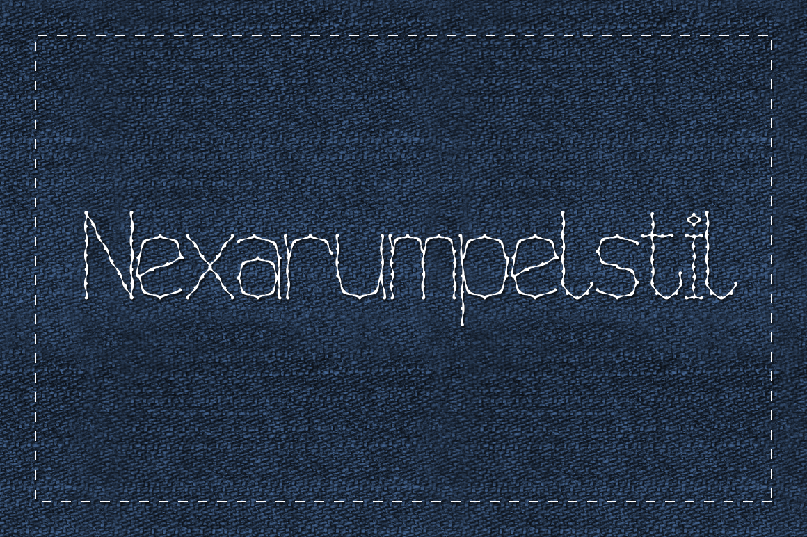 Print on Demand: Nexarumpelstil Decorative Font By viper78