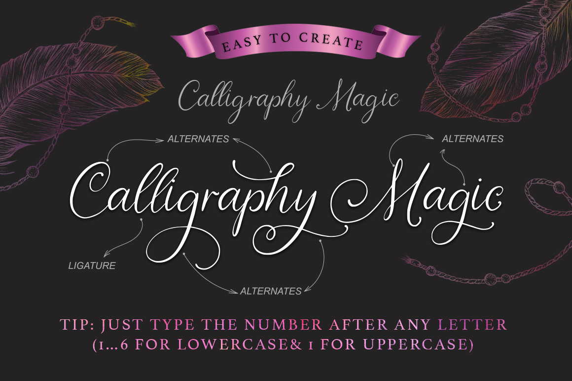 Print on Demand: Nightingale Script Script & Handwritten Font By Red Ink - Image 4
