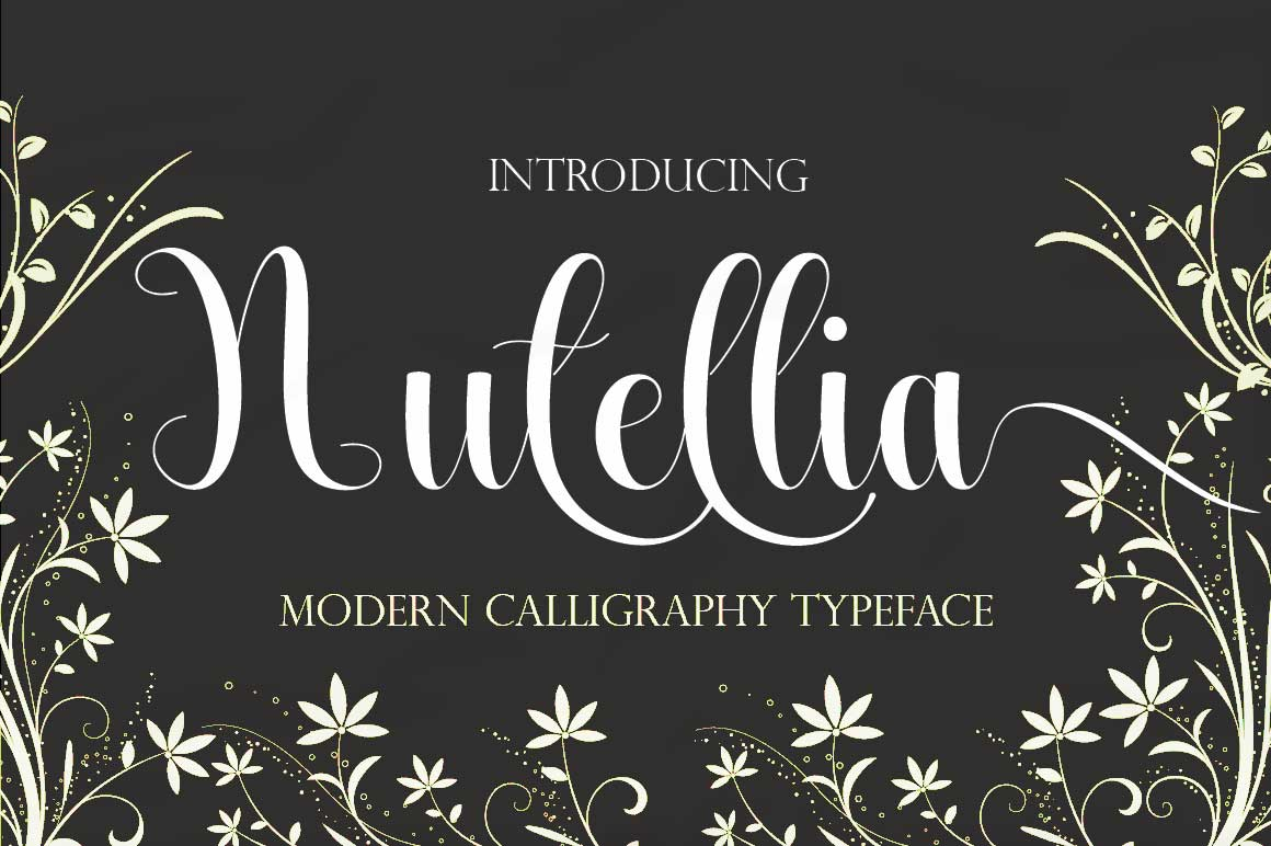 Print on Demand: Nutellia Script & Handwritten Font By Juniors