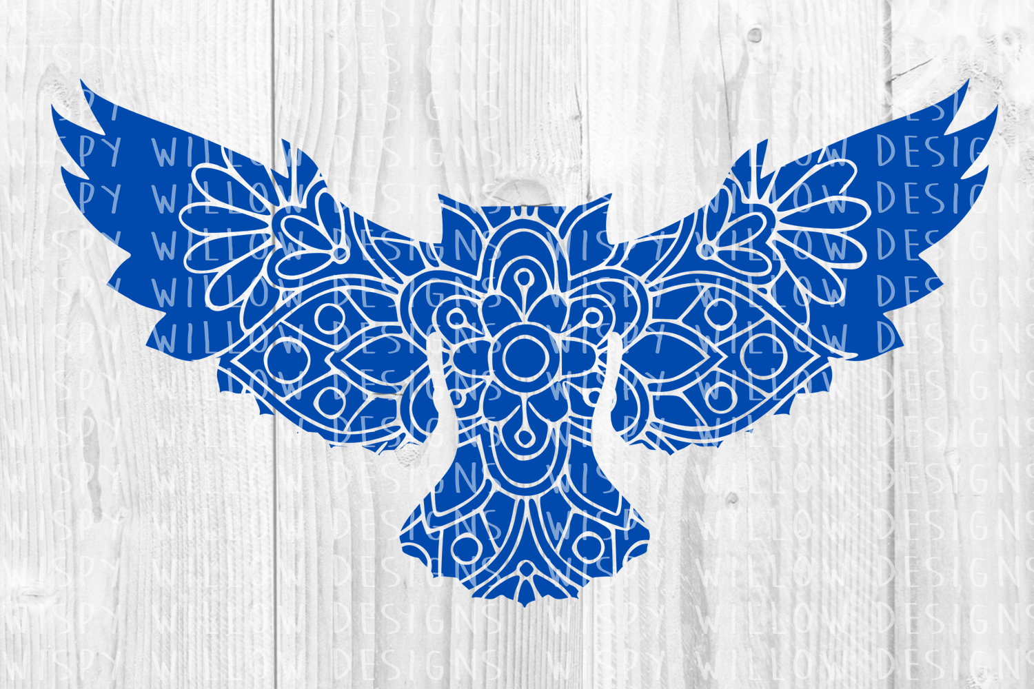 Download Free Owl Mandala Graphic By Wispywillowdesigns Creative Fabrica for Cricut Explore, Silhouette and other cutting machines.