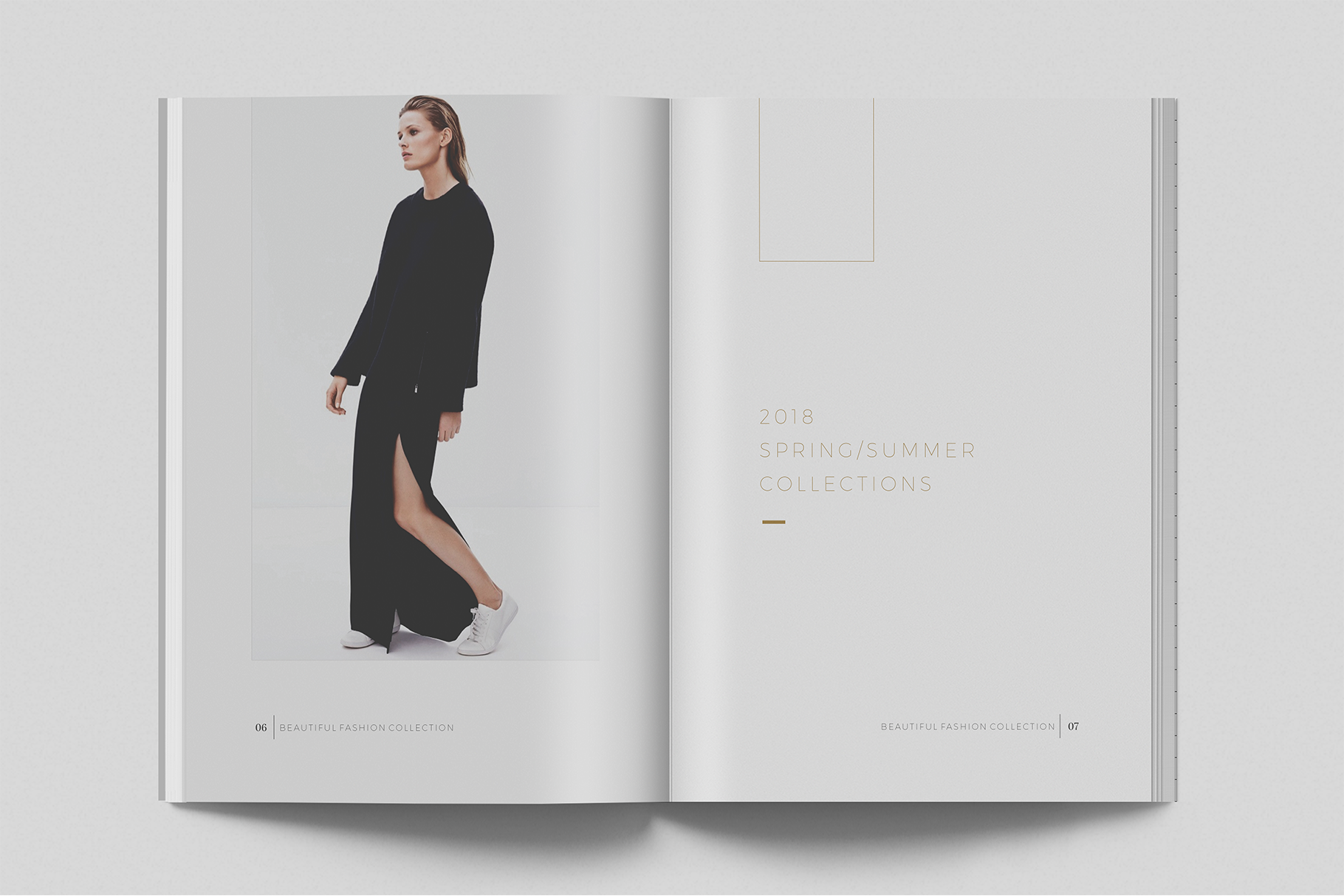 pakean minimal lookbook magazine graphic by onedsgn creative fabrica