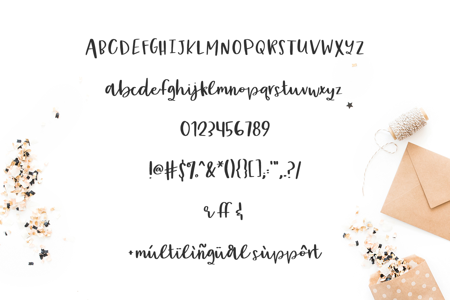 Print on Demand: Party Dress Script & Handwritten Font By BeckMcCormick - Image 8