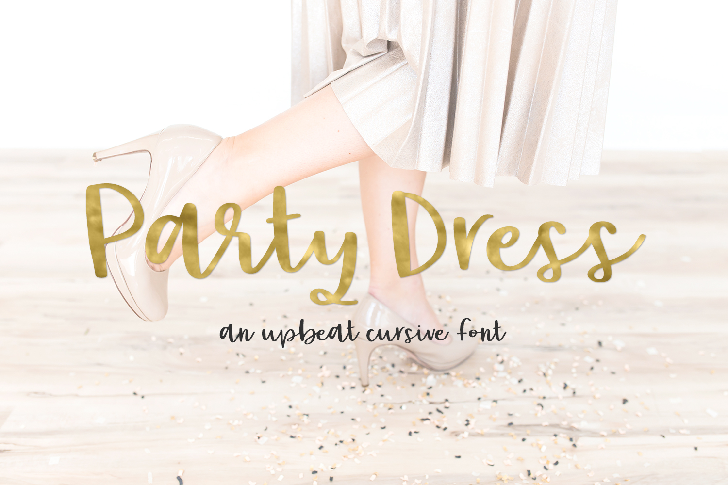 Print on Demand: Party Dress Script & Handwritten Font By BeckMcCormick - Image 1