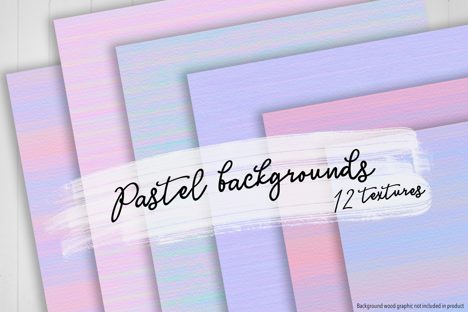 Print on Demand: Pastel Backgrounds Graphic Textures By JulieCampbellDesigns