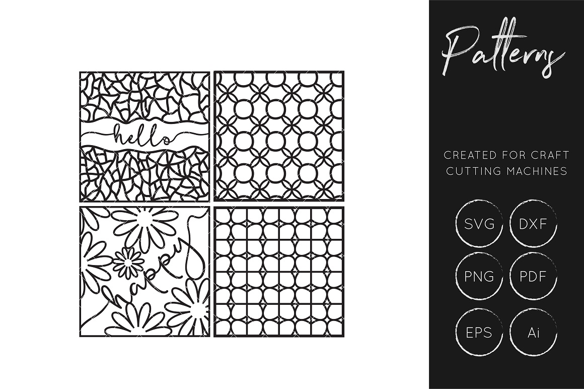 Print on Demand: Patterns  Graphic Crafts By illuztrate
