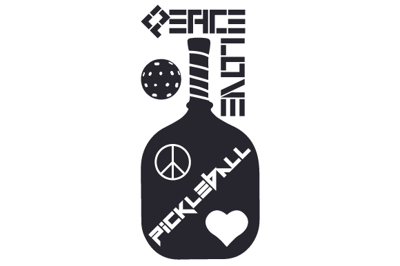 Download Free Peace Love Pickleball Svg Cut File By Creative Fabrica Crafts for Cricut Explore, Silhouette and other cutting machines.