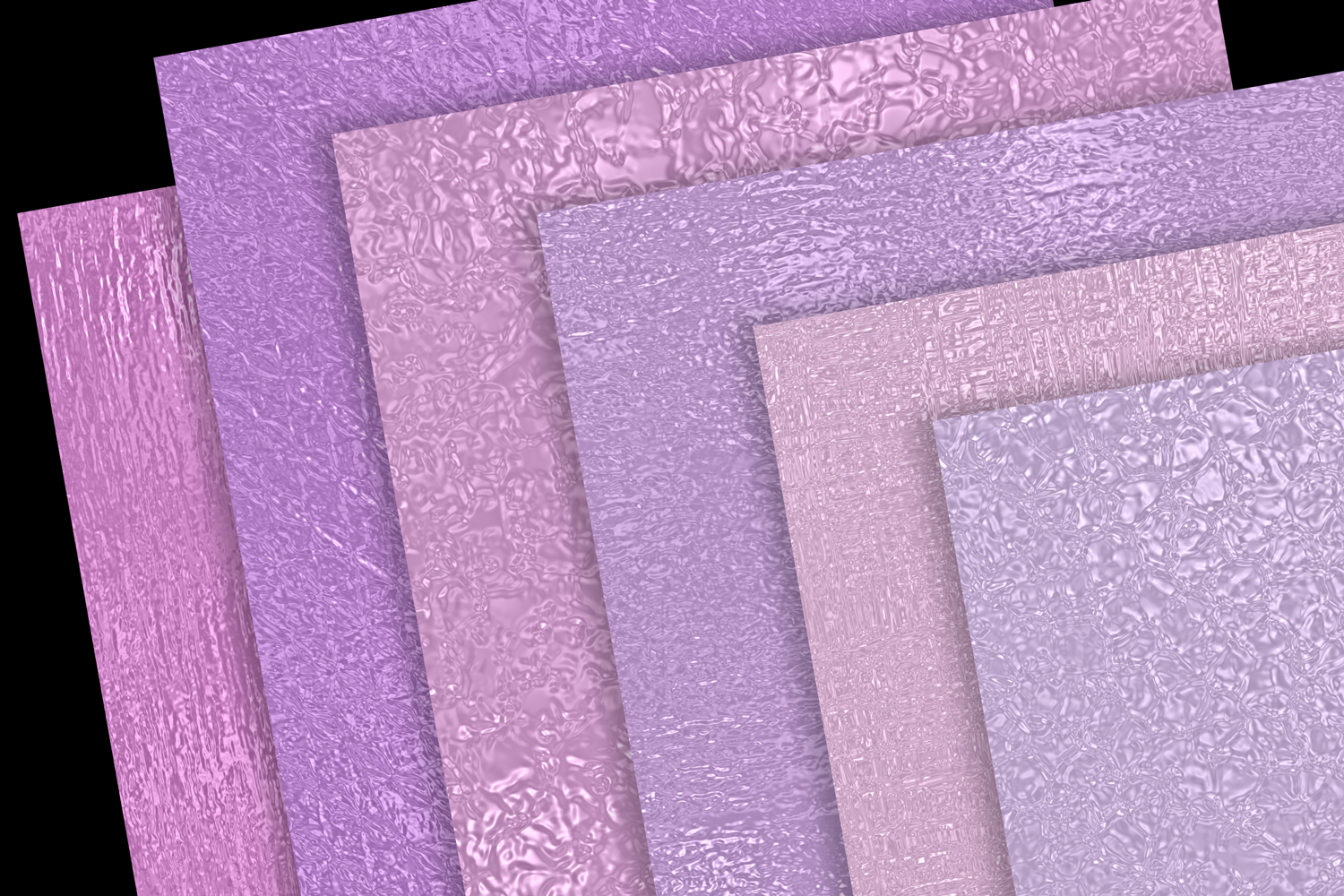 Print on Demand: Pink and Purple Metallics Graphic Textures By JulieCampbellDesigns - Image 2