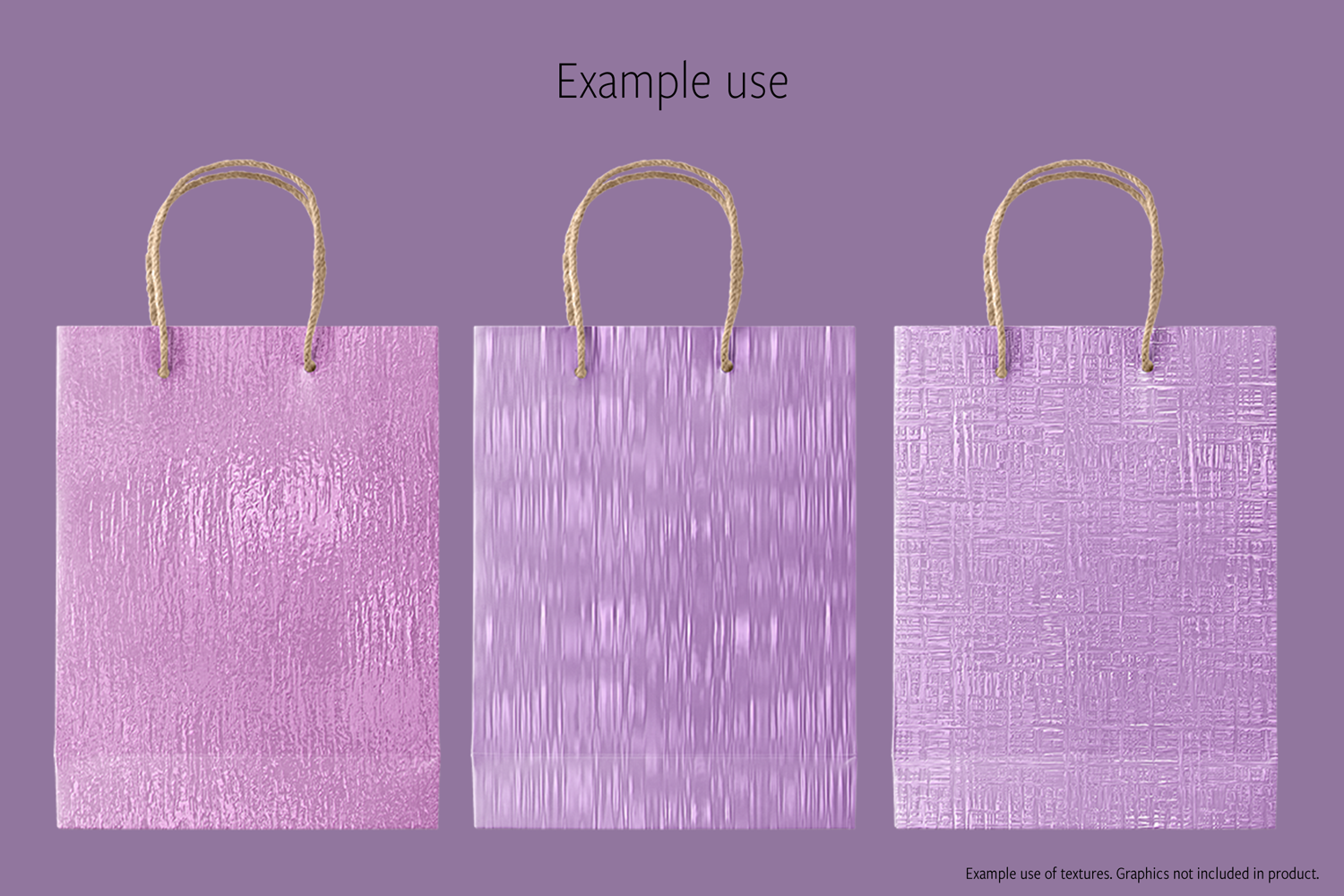 Print on Demand: Pink and Purple Metallics Graphic Textures By JulieCampbellDesigns - Image 7