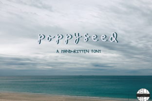 Poppy Seed Font By kaitalanis