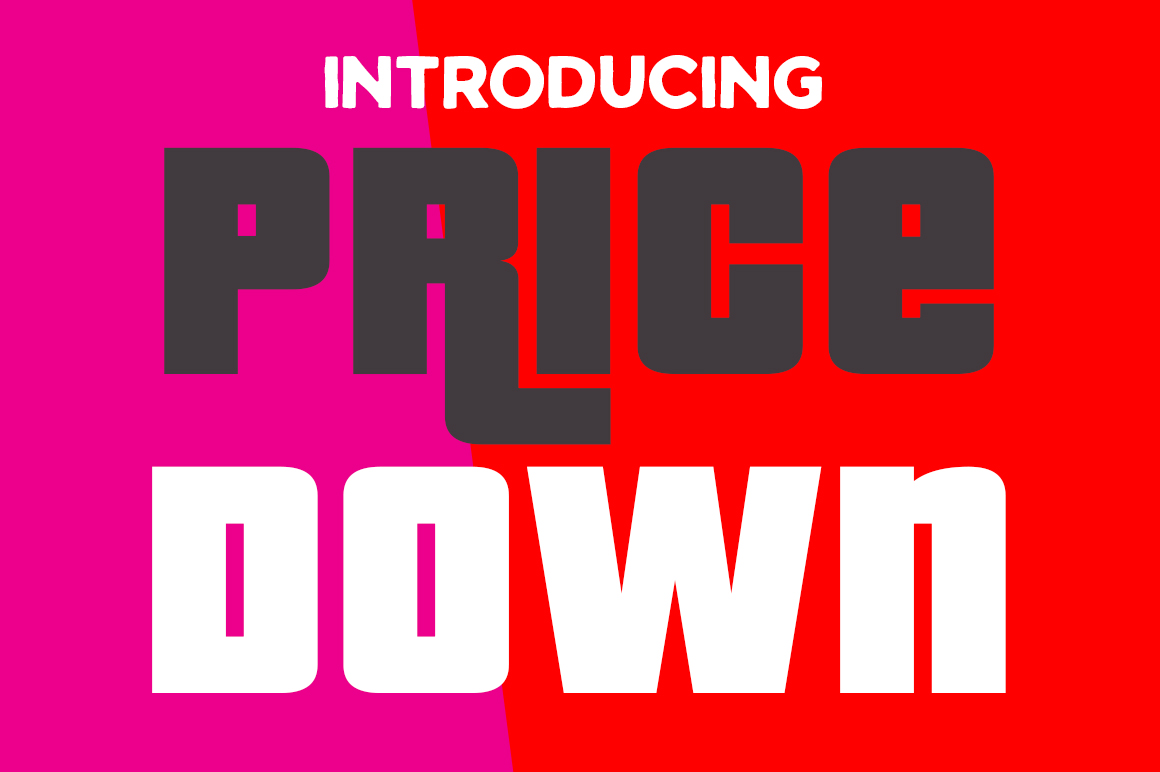 Print on Demand: Pricedown Display Font By Typodermic - Image 1