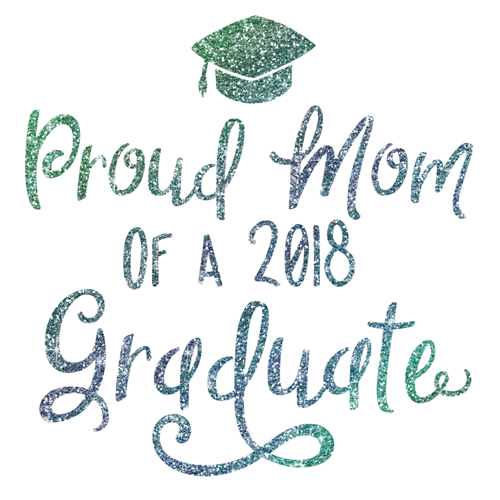 Download Free Proud Mom Of 2018 Graduate Graphic By Southern Belle Graphics for Cricut Explore, Silhouette and other cutting machines.