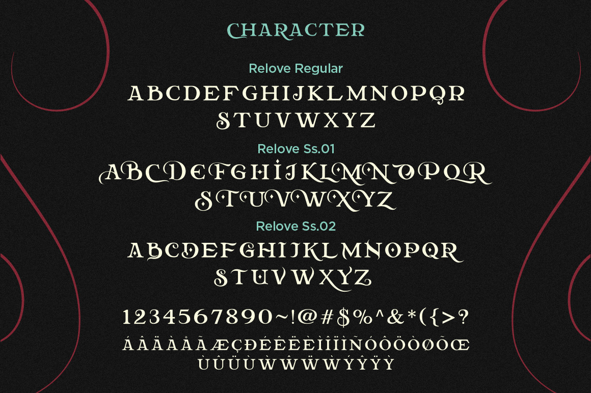 Relove Font By storictype Image 12