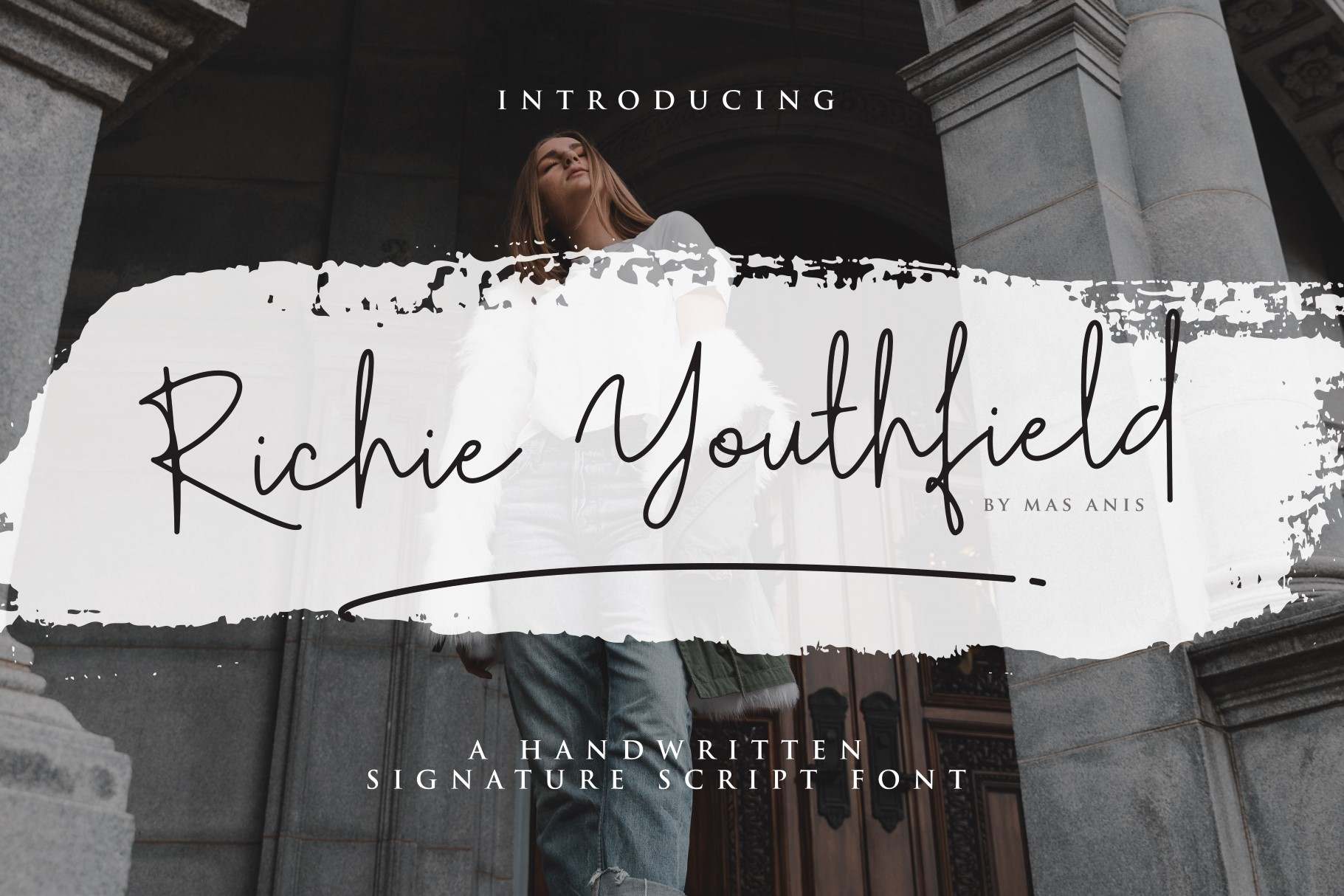 Print on Demand: Richie Youthfield Script & Handwritten Font By Mas Anis