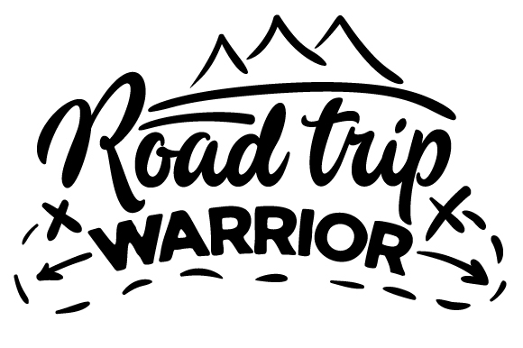 Road Trip Warrior Travel Craft Cut File By Creative Fabrica Crafts
