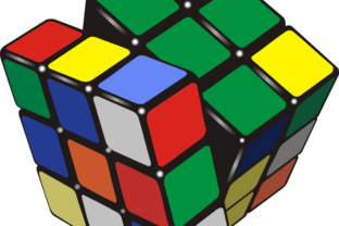 Rubik's Cube Graphic By fray06100