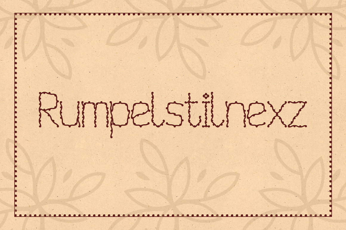 Rumpelstilnexz Decorative Font By viper78