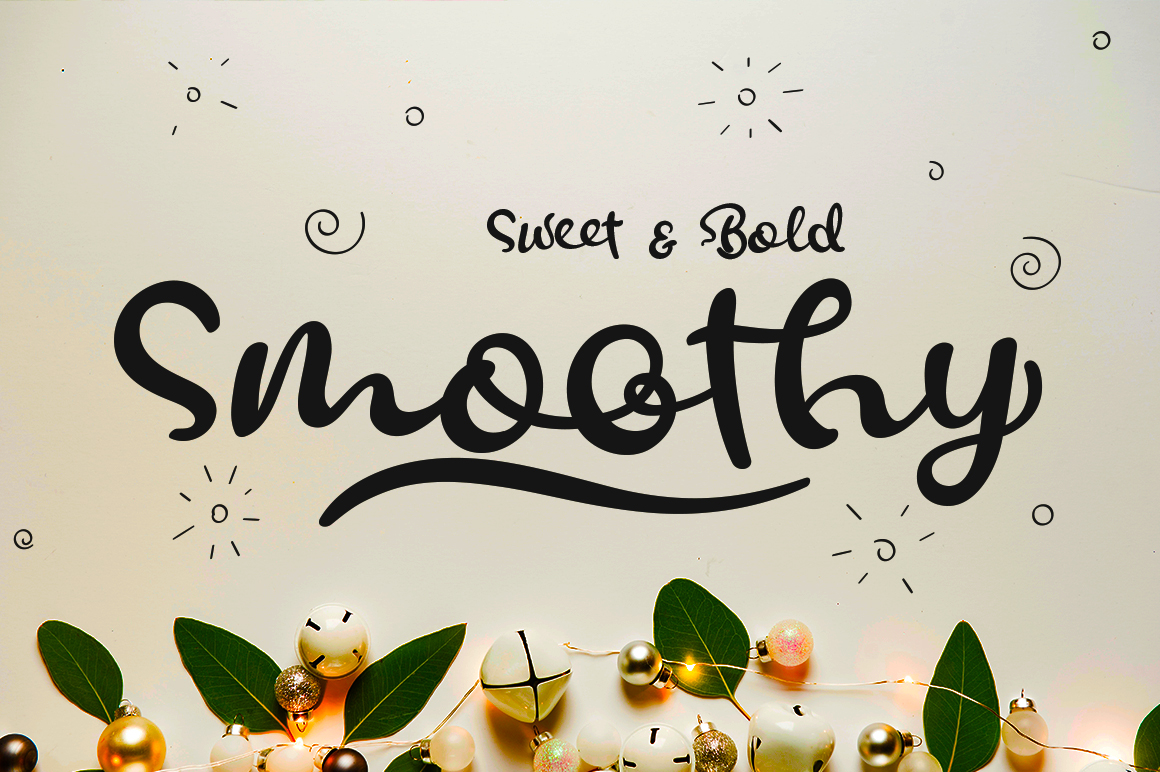 Print on Demand: Smoothy Script & Handwritten Font By motokiwo