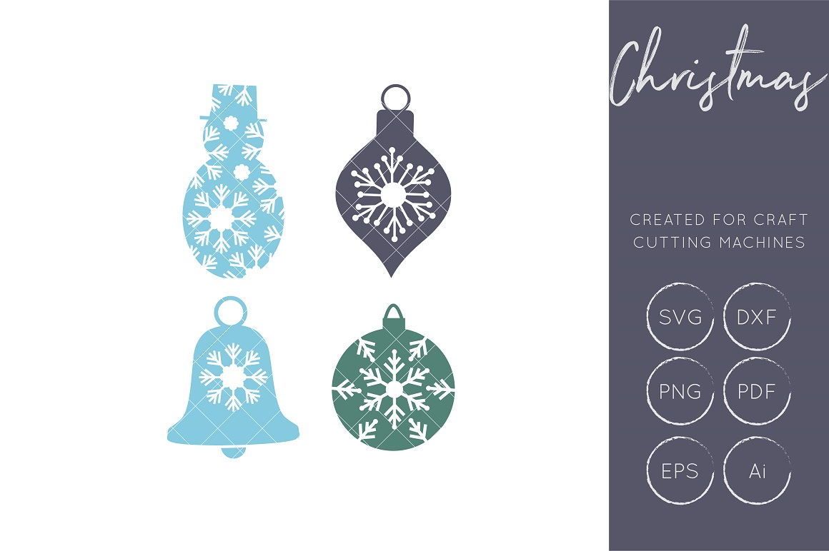 Download Free Snowflakes Graphic By Illuztrate Creative Fabrica for Cricut Explore, Silhouette and other cutting machines.