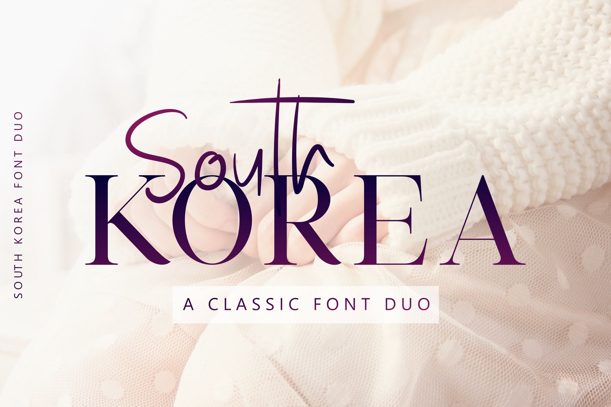 Print on Demand: South Korea Serif Fuente Por Graphicfresh