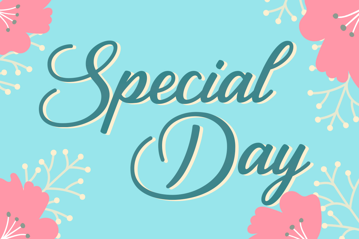 Download Free Special Day Font By Silhouette America Inc Creative Fabrica for Cricut Explore, Silhouette and other cutting machines.
