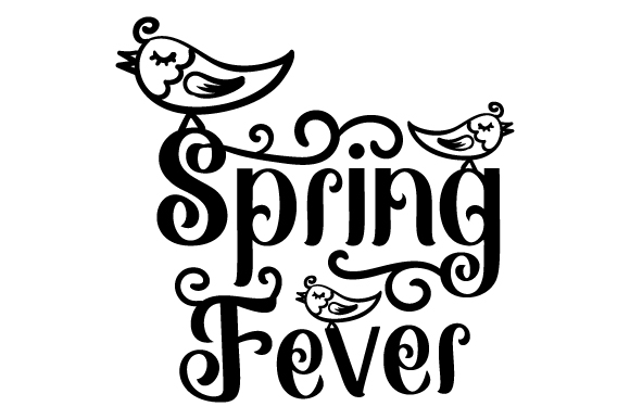 Spring Fever Spring Craft Cut File By Creative Fabrica Crafts - Image 1