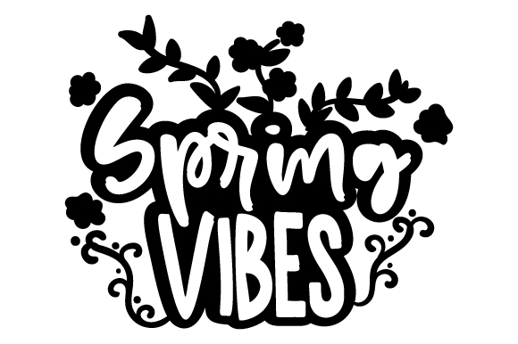 Spring Vibes Spring Craft Cut File By Creative Fabrica Crafts - Image 2