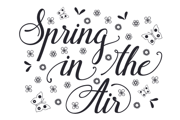 Spring in the Air Spring Craft Cut File By Creative Fabrica Crafts - Image 2