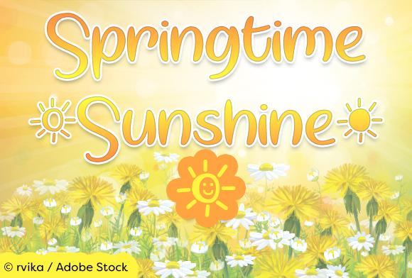 Print on Demand: Springtime Sunshine Manuscrita Fuente Por Misti