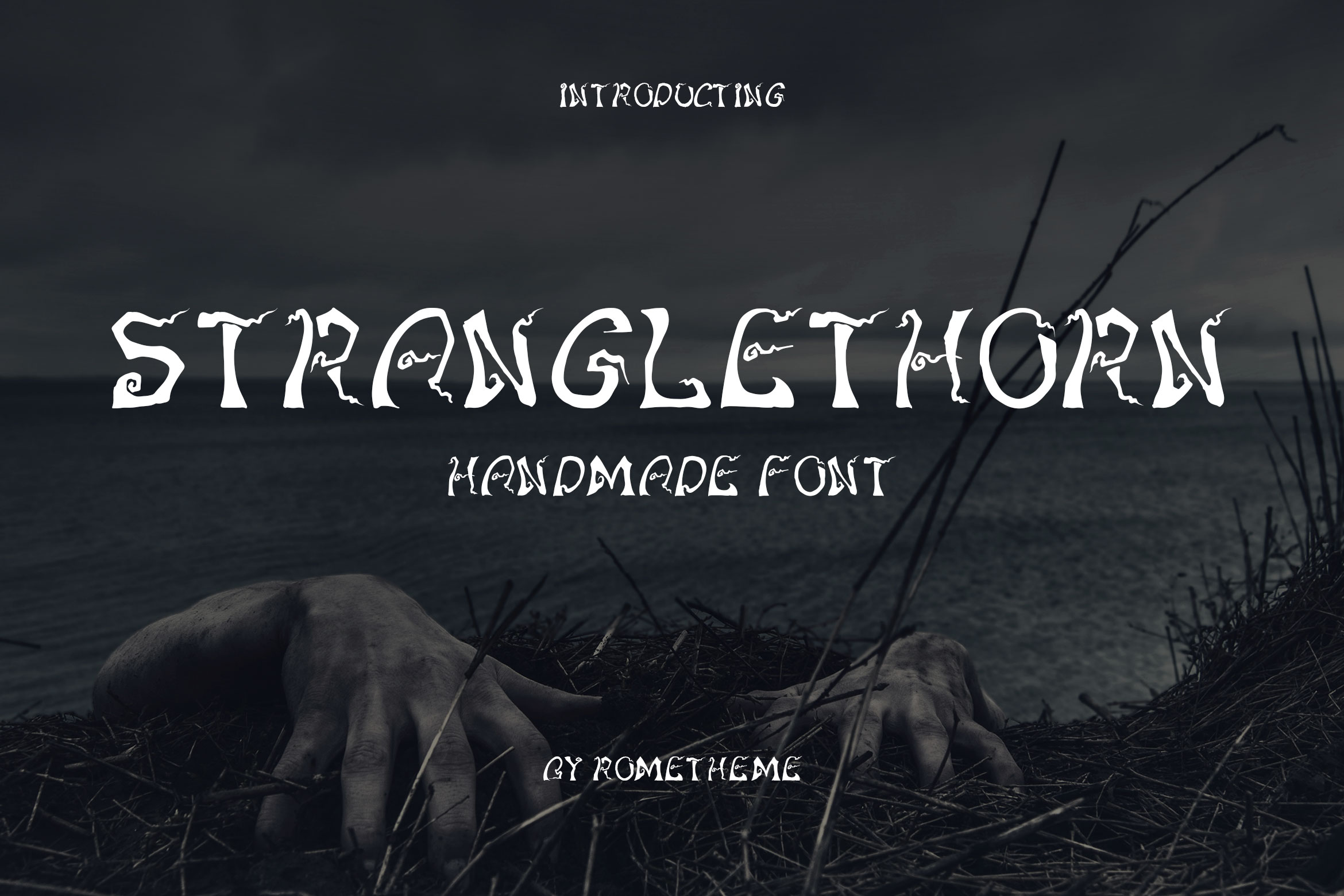 Print on Demand: Stranglethorn Decorative Font By rometheme