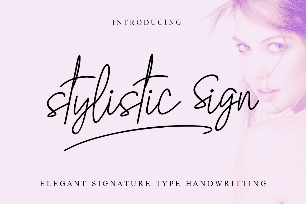 Print on Demand: The Stylistic Sign Script & Handwritten Font By Haksen