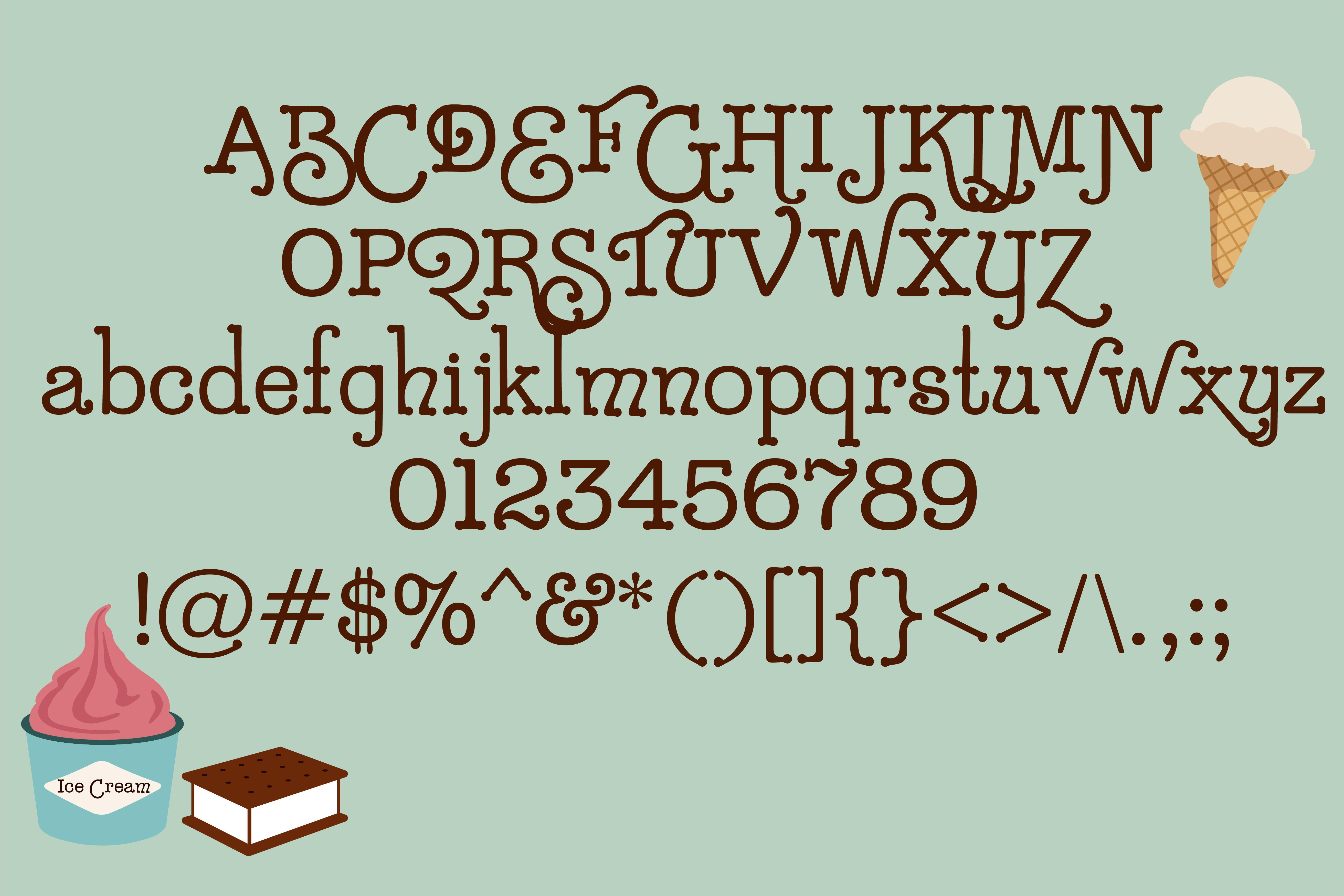 Sugar Rush Font By Illustration Ink Image 2