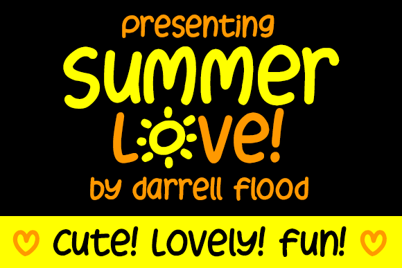 Print on Demand: Summer Love Script & Handwritten Font By Dadiomouse