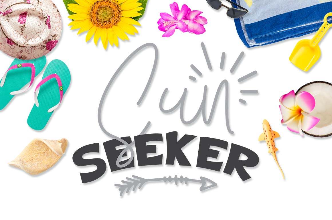 Download Free Sun Seeker Graphic By Theblackcatprints Creative Fabrica for Cricut Explore, Silhouette and other cutting machines.
