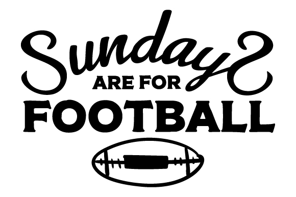 Download Free Sundays Are For Football Svg Cut File By Creative Fabrica Crafts for Cricut Explore, Silhouette and other cutting machines.