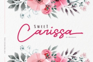 Sweet Carissa Font By Mas Anis