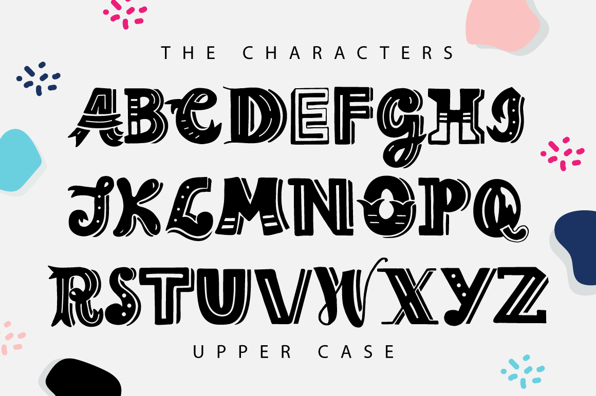 Print on Demand: The Lettering Font Display Font By Caoca Studios - Image 2