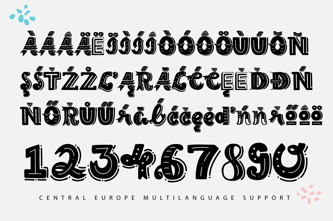 Print on Demand: The Lettering Font Display Font By Caoca Studios - Image 4