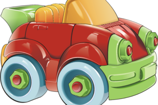 Toy Car Graphic By fray06100