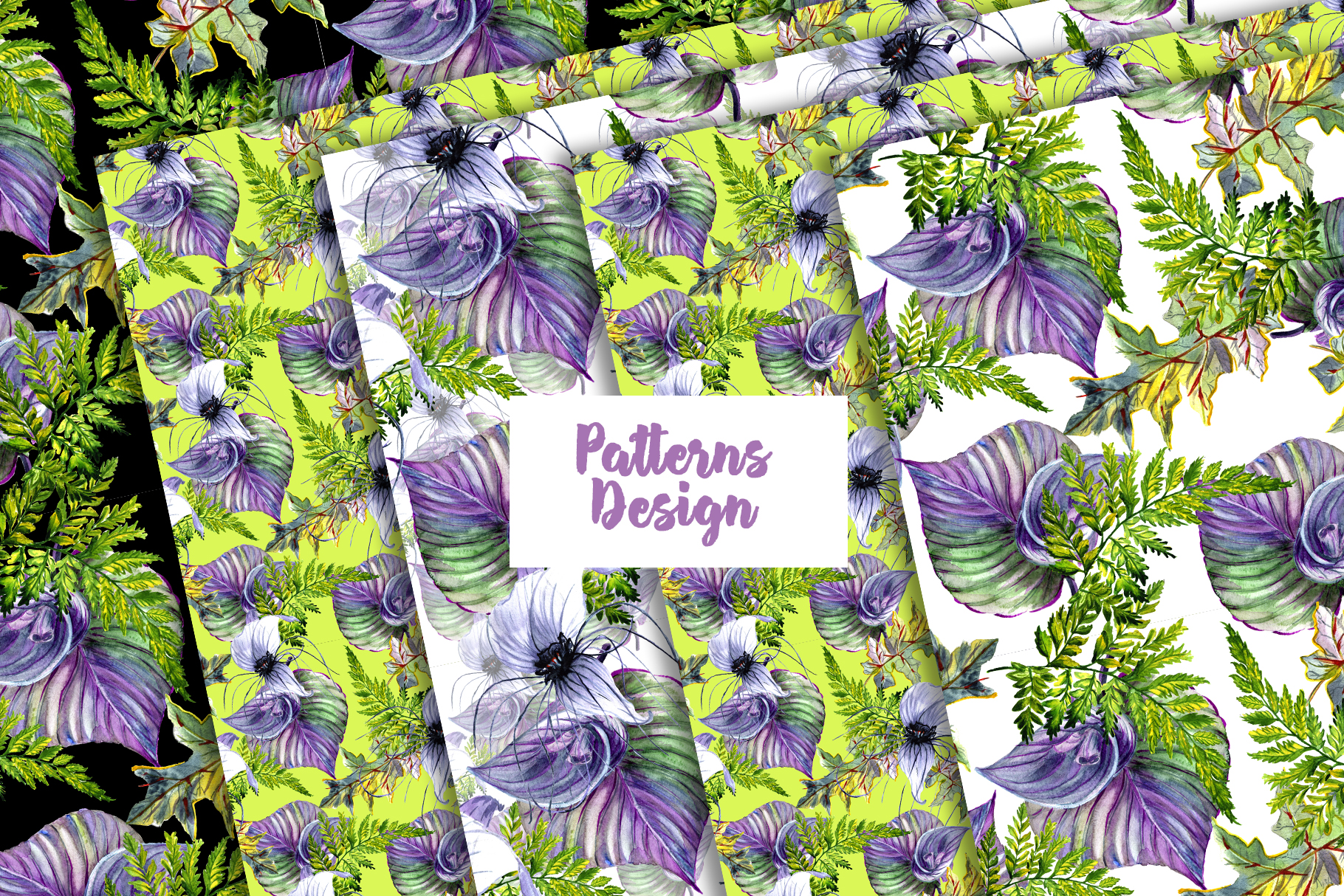 Print on Demand: Tropical Flowers PNG Watercolor Set Graphic Illustrations By MyStocks - Image 5