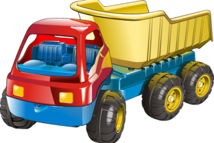 Truck - Toy Graphic By fray06100