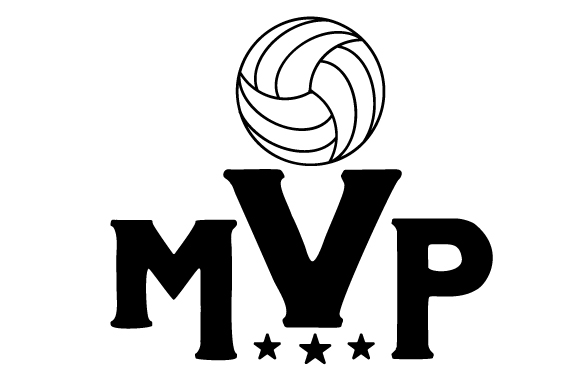 Download Free Volleyball Mvp Svg Cut File By Creative Fabrica Crafts for Cricut Explore, Silhouette and other cutting machines.