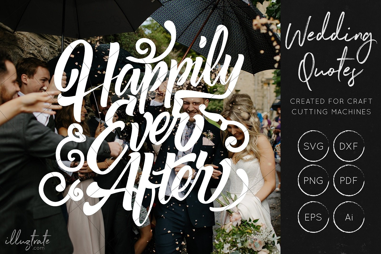Download Free Wedding Quotes Bundle Grafik Von Illuztrate Creative Fabrica SVG Cut Files