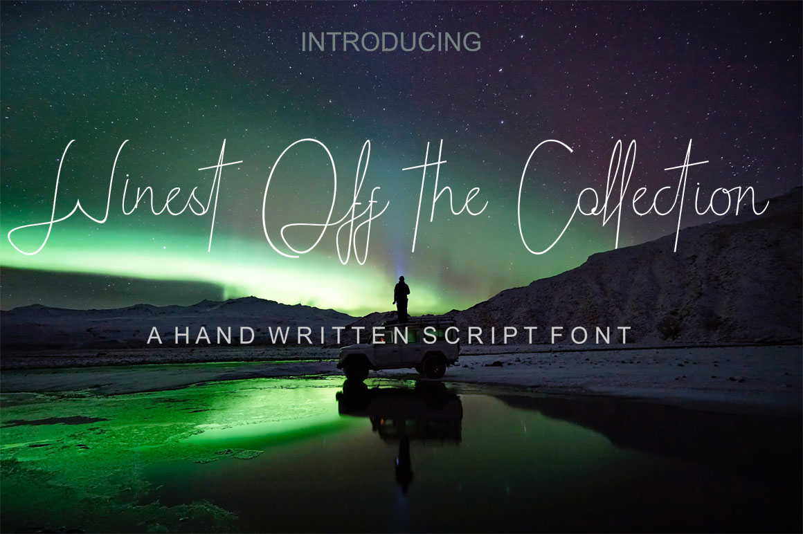 Winest off the Collection Font By varennew